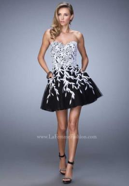 La Femme Short Dress 21798