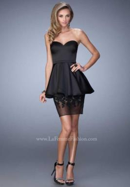 La Femme Short Dress 21817