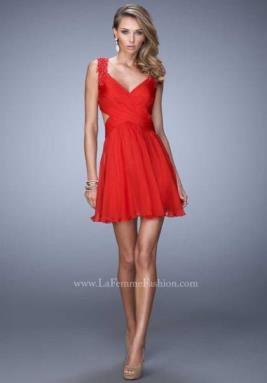 La Femme Short Dress 21834