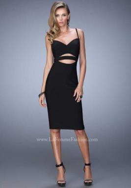 La Femme Short Dress 22045