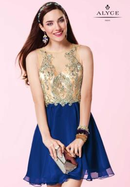 Alyce Short Dress 3646
