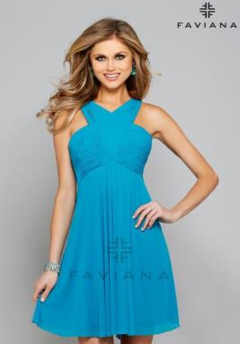 Faviana Dress 7649