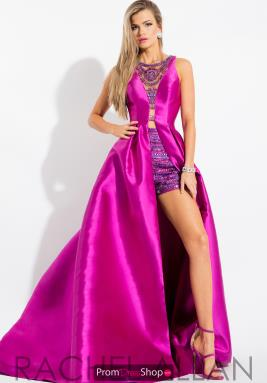 Prom dress pink jumpsuit