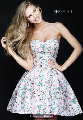 Sherri Hill Short Dress 50799