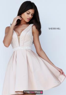 Sherri hill lace corset dress