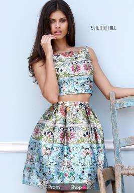Sherri Hill Short Dress 50854