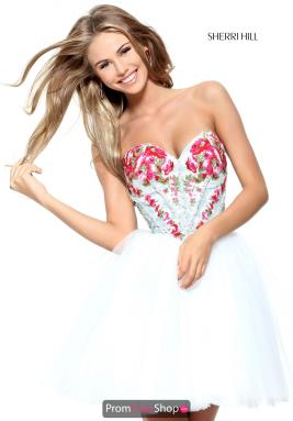 Sherri Hill Short Dress 50983