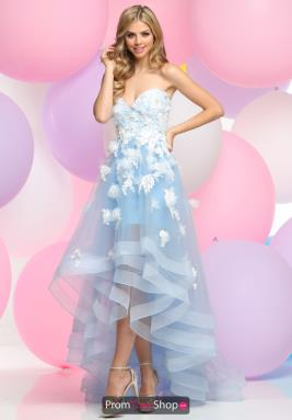 Zoey Grey Dress 30856
