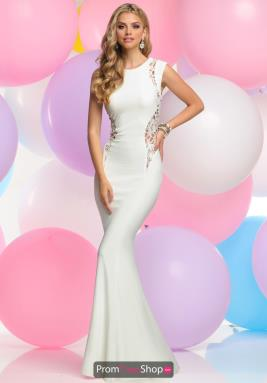 Zoey Grey Dress 30962