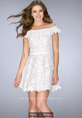 La Femme Short Dress 23361