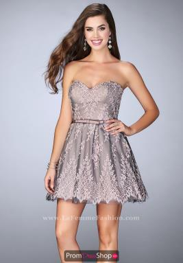 La Femme Short Dress 23519