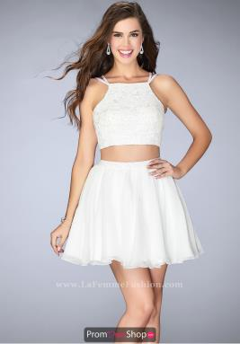 La Femme Short Dress 23531