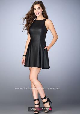 La Femme Short Dress 24178