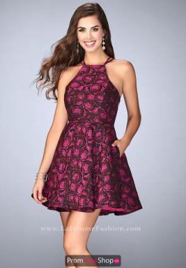 La Femme Short Dress 24283