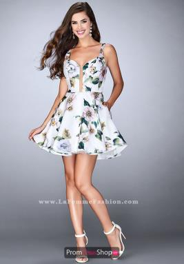 La Femme Short Dress 24500