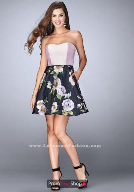 La Femme Short Dress 24506