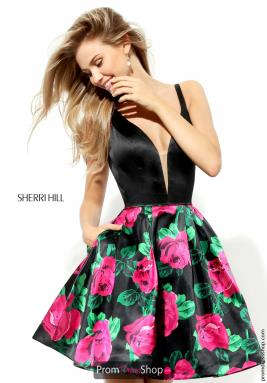 Sherri Hill Short Dress 50596