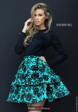 Sherri Hill Short Dress 50559