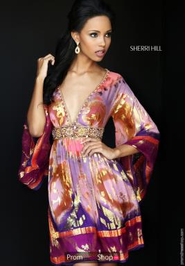 Sherri Hill Short Dress 50625