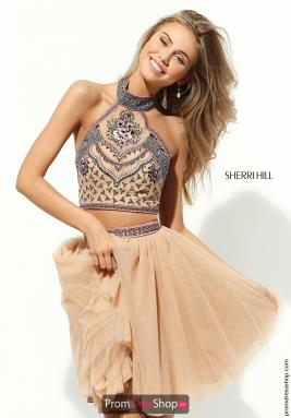 Sherri Hill Short Dress 50645