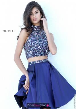 Sherri Hill Short Dress 11317