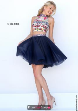 Sherri Hill Short Dress 50140