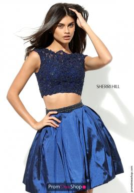 Sherri Hill Short Dress 50555