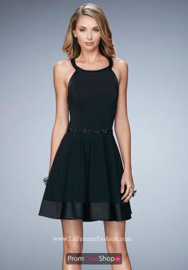 La Femme Short Dress 22146