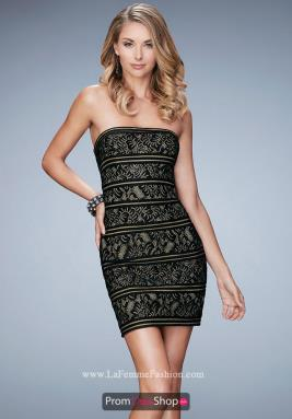 La Femme Short Dress 22863