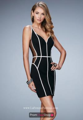 La Femme Short Dress 23254