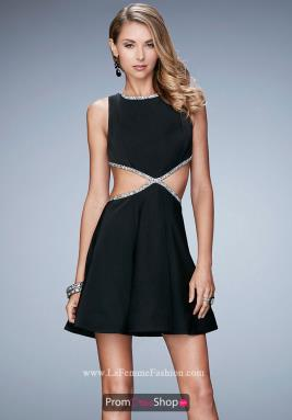 La Femme Short Dress 23257