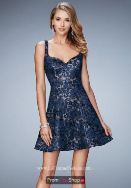 La Femme Short Dress 23301