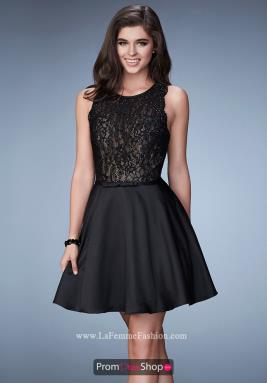 La Femme Short Dress 23308