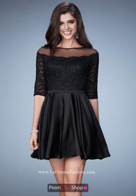 La Femme Short Dress 23345