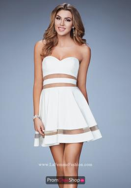 La Femme Short Dress 23349