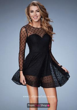 La Femme Short Dress 23460