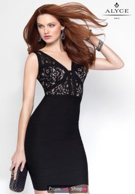 Alyce Short Dress 4454