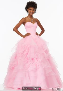 Ball Gowns at Prom Dress Shop.