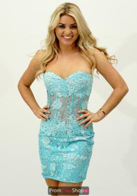 Jovani Short Dress 79215