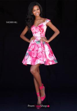 Sherri Hill Short Dress 51793