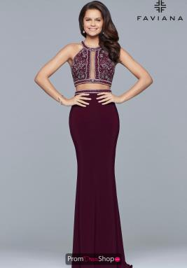 Faviana Dress 10019