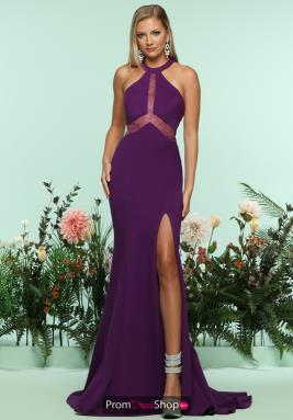 Zoey Grey Dress 31150