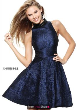 Sherri Hill Short Dress S50680