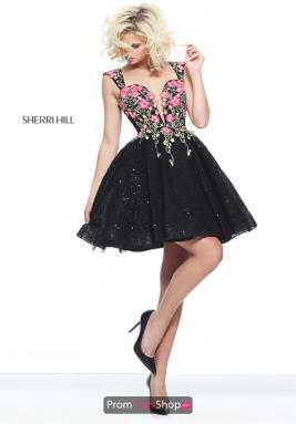 Sherri Hill Short Dress S51085