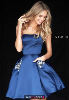 Sherri Hill Short Dress 51390