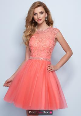 Salmon colored cocktail dresses