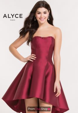 Alyce Short Dress 3697
