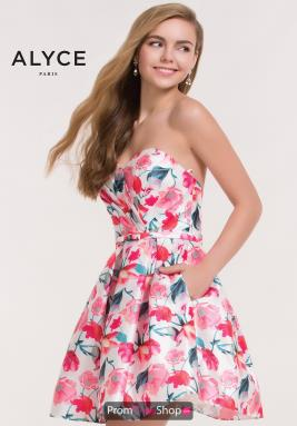 Alyce Short Dress 3709