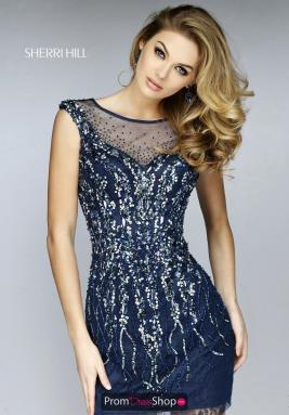 Sherri Hill Short Dress 9749