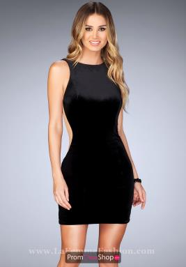 La Femme Short Dress 25007